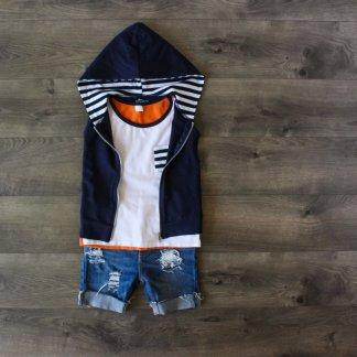 the-boy-box-clothing-subscription-kids-hoodie-vest-tank-navy-orange-stripe-zipup