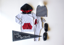 the-boy-box-hoodie-set-gray-buffalo-check-plaid-boys-subscription-cute-clothes